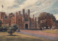 Government House, Sydney' by Percy Spence. Australia, antique print 1910